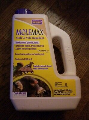 Molemax Mole Repel 5 Lb, by Bonide Product, PartNo 691, BEST SELLER!, High