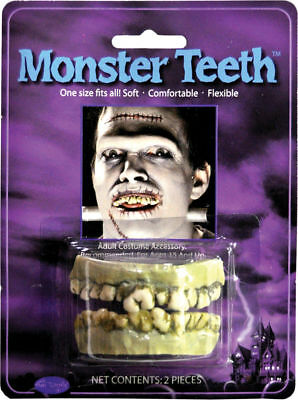 Halloween Costumes Mn (Morris Costumes Easy To Wear Character Teeth Monster One Size Fits All.)