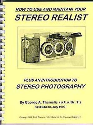 Stereo Realist Camera BOOK by DrT - Everything you need to know and MORE!