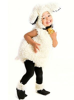 Infant Lamb Costume (Lovely Lamb Sheep Plush Costume Baby Infant Toddler 6 9 12 18 24 month 2T 3T 3)