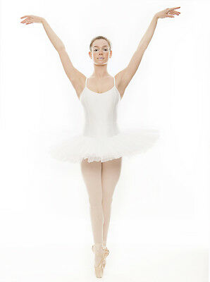 h Ballet Fancy Dress Costume Tutu Outfit All Sizes By Katz  (White Witch Fancy Dress Kostüm)