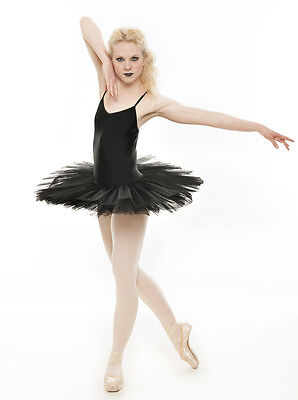 Black Swan Halloween Ballet Fancy Dress Costume Tutu Outfit All Sizes By Katz  - Black Outfit Halloween