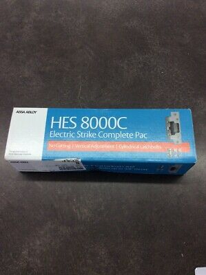 Assa Abloy Hes 8000c 1224d-630 Electric Strike Complete Pac Latchbo Lin023791