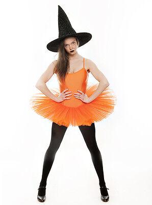 Orangfarbene Kürbis Halloween Hexe Kostüm Tutu Outfit Alle Größen von (Kürbis Tanz Kostüm)