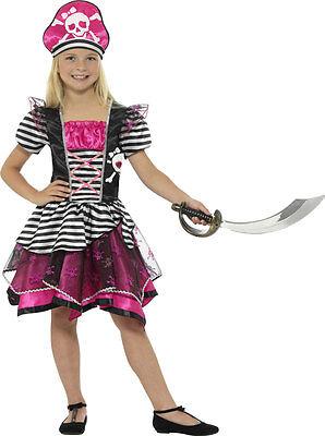 Lia Kinderkostüm NEU - Mädchen Karneval Fasching Verkleidung K (Süße Piraten-kostüm)