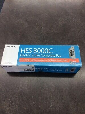 Assa Abloy Hes 8000c 1224d-630 Electric Strike Complete Pac Latchbo Lin023790