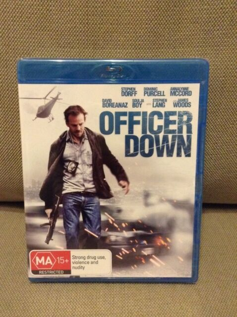Officer down Bluray movie (Brand New and sealed)