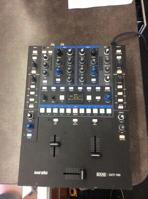 Serato Rane 62 Sixty Two DJ Mixer with Road Ready Case (LIN022139)