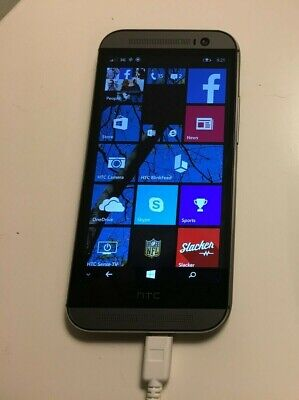HTC One M8 - 32GB -  Black (Verizon) Windows Smartphone