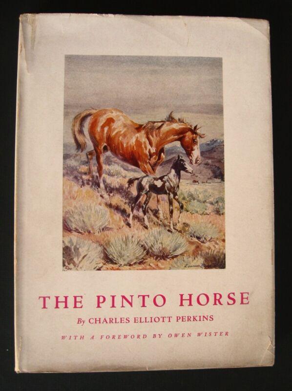 THE PINTO HORSE, Perkins, 16 EDWARD BOREIN drawings 1937 Skofield Santa Barbara