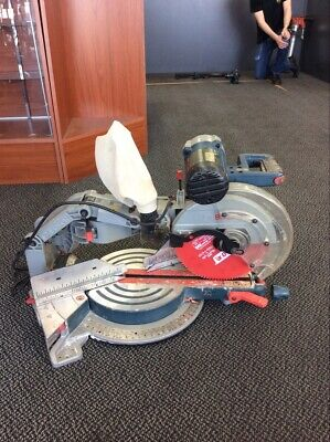 Bosch 15 Amp 12 in. Corded Dual-Bevel Sliding Glide Miter Saw (LIN020202)