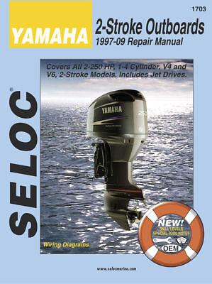 Seloc Marine Yamaha 2 Stroke Outboards Shop Repair Manual 1997-2009