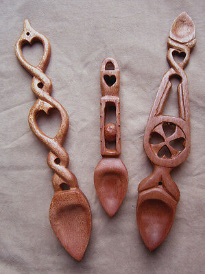 wooden love spoon ,lovespoon, carved, welsh, free inscriptions