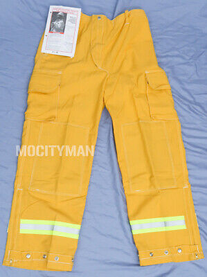 Lion Apparel Wildland Brush Fire Firefighter Pants Medium Regular Nomex