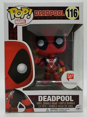 Funko Pop! Marvel Walgreens Exclusive Deadpool with Chicken w/ Pop Protector