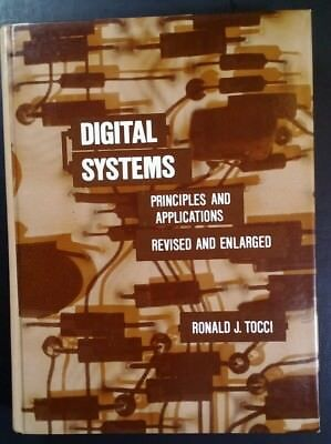Vtg 1980 Digital Systems Principles   Apps Textbook With Solutions Tocci Rare