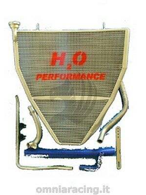 Water Racing Oversized Full Radiator H2O Performance Yamaha R1 2009/2014