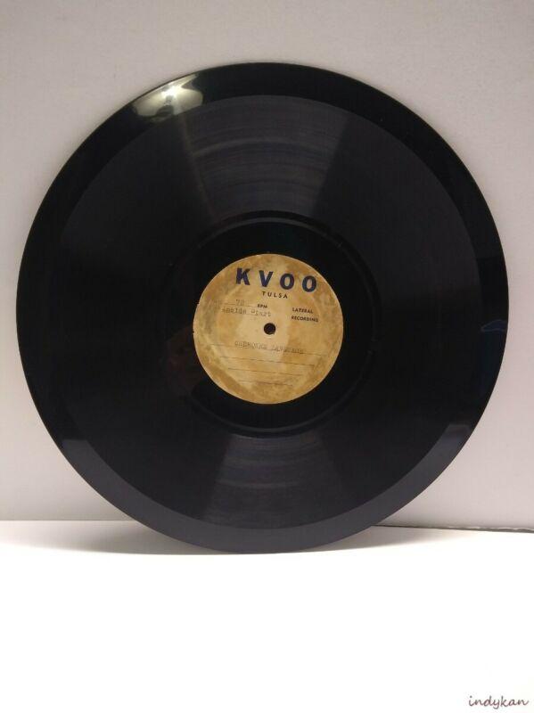 Cherokee Language Record Native American Indian KVOO Radio 1920s? Vann & McCoy