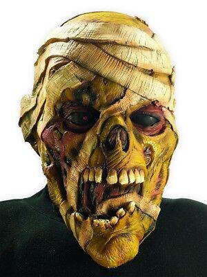 Mumie Vinyl Maske Iron Maiden Eddie Eddy Kostüm Metall Unheimlich Geschenk (Iron Maiden Eddie Kostüm)