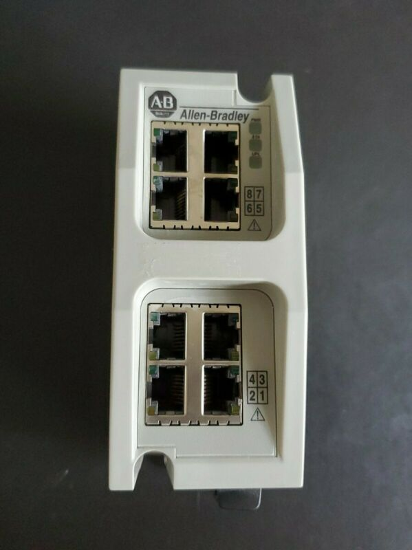 Allen-Bradley Stratix 6000 Managed Network Switch / Fiber SFP transceiver uplink
