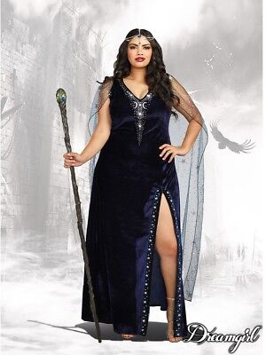 Dreamgirl The Sorceress Witch Plus Size Womens Adult Halloween Costume 11149 - Halloween Costumes Plus Sizes Womens