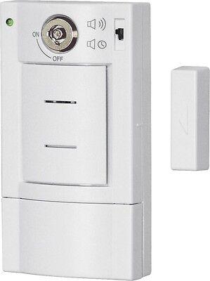 Türalarm + Schlüsselhalter weiß Einbruchschutz Alarmanlage Alarm Sicherheit TOP