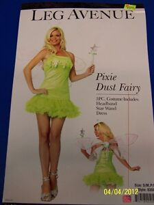 3-pc-Pixie-Dust-Fairy-Tinker-Bell-Green-Leg-Avenue-Halloween-Sexy-Adult-Costume