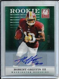 Robert Griffin III 2012 Donruss Elite Autograph Rookie #43/99
