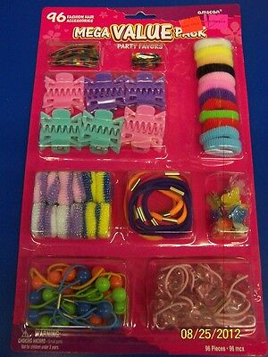 Fashion Hair Accessories Kids Girls Birthday Gift Party Mega Value Pack Favors
