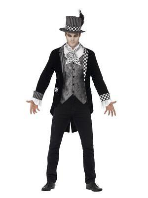 Smi - Herren Kostüm dunkler Hutmacher Gentleman Halloween