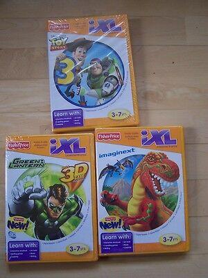 NEW IXL Learning System Game lot Imaginext Dinosaur Toy Stor