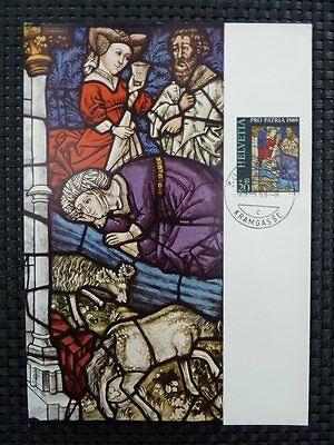 SCHWEIZ MK 1969 903 PRO PATRIA MAXIMUMKARTE CARTE MAXIMUM CARD MC CM a5310