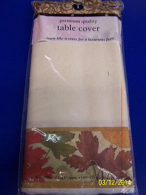 Autumn Medley Fall Leaves Thanksgiving Holiday Party Decoration Paper Tablecover