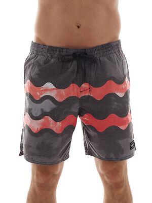 Wasser Shorts (O'Neill Boardshorts Badehose Swimwear grau Paradise wasserabweisend)
