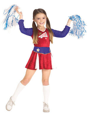 Child Girls Cheerleader Outfit Costume - Girls Cheerleading Outfit