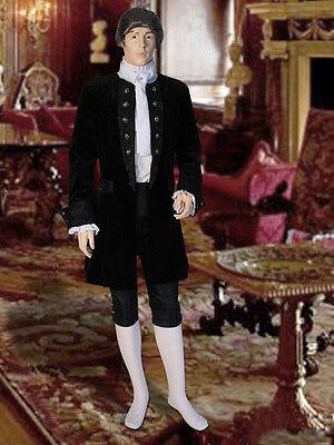 Baroque Costume Men (Renaissance or Baroque Frock Coat Handmade from Velvet and)