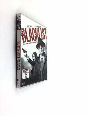 The Blacklist: Season 3 (DVD, 2016, 5-Disc Set)