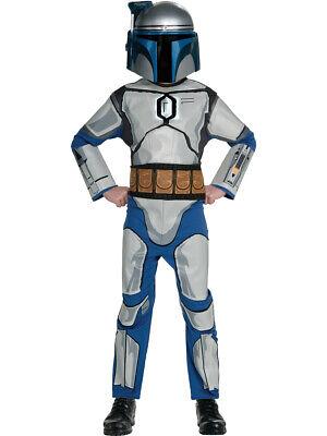 Star Wars Jango Fett Costume (Child's Boys Star Wars Jango Fett)
