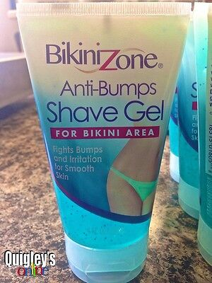 Bikini Zone 4 oz. Anti-Bumps Shave Gel for Bikini Area FREE SHIPPING ()