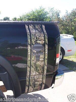 Mossy Oak Camo Skull Bed side stripe Stripes Fit all Silverado Ram F250 F150 350