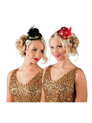Tiara VIP mit Minihut Party Kostüm Accessoires