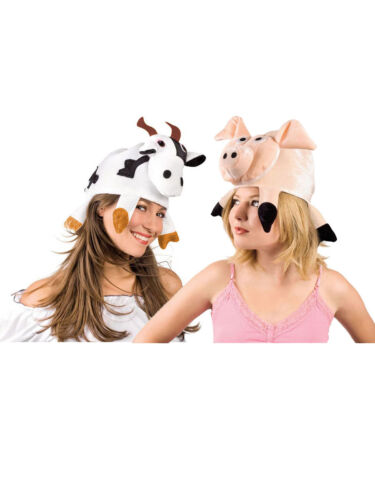 Mütze Bauernhof Tier Hut Fasching Karneval