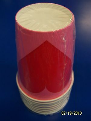 Key to Your Heart Valentine's Day Party 9 oz Paper Cups