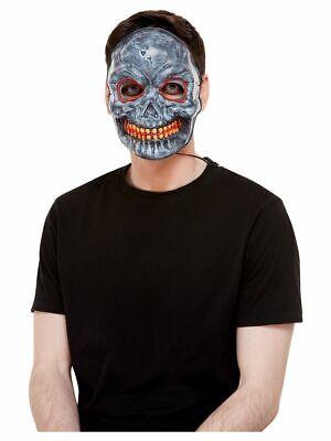 nkopf Maske Halloween Cosplay Glühend Scary Skelett Kostüm (Scary Skelett Masken)