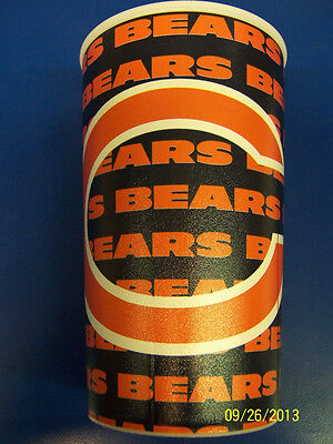Chicago Bears NFL Pro Football Sports Banquet Party Favor 22 oz Plastic Cup ()