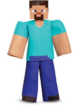 Child's Boys Prestige Minecraft Steve Mine Craft Mojang - Minecraft Costume Kids