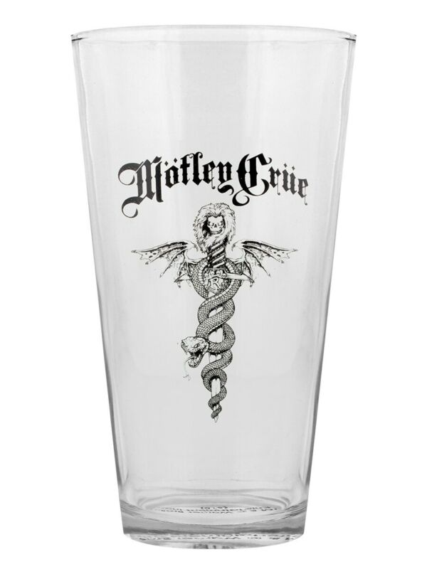 Motley Crue Drinking Glass Dr Feelgood