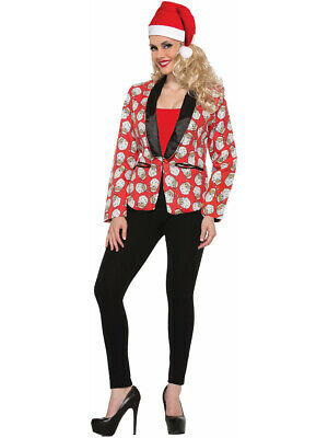 Adult's Womens Santa Claus Suit Jacket Blazer Costume](Womens Santa Suits)