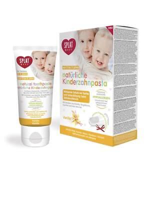 Splat Baby Kinderzahnpasta Vanille ohne Fluorid