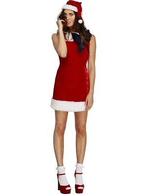 Adult Sexy Miss Santa Claus Christmas Costume ](Miss Claus Costume)